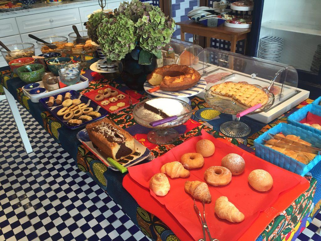 maison la mineretta breakfast