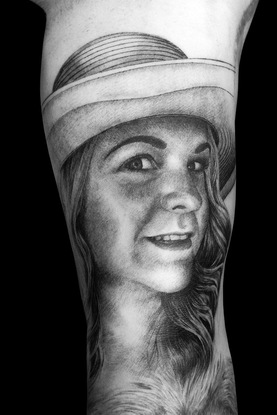 Portrait Tattoo (Part 3 Of My Full Sleeve Tattoo)