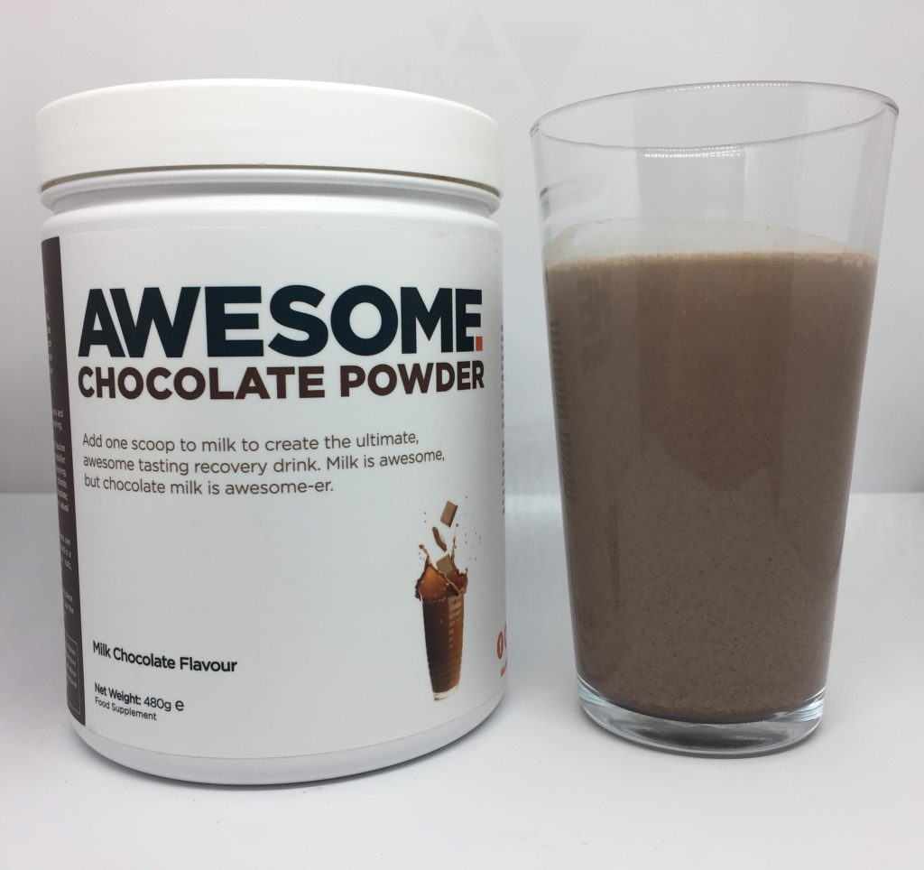 awesome chocolate powder