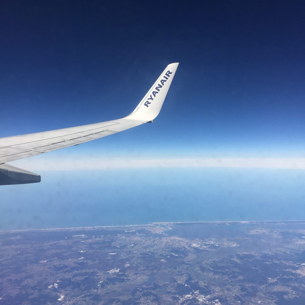 flying to lisbon with ryanair