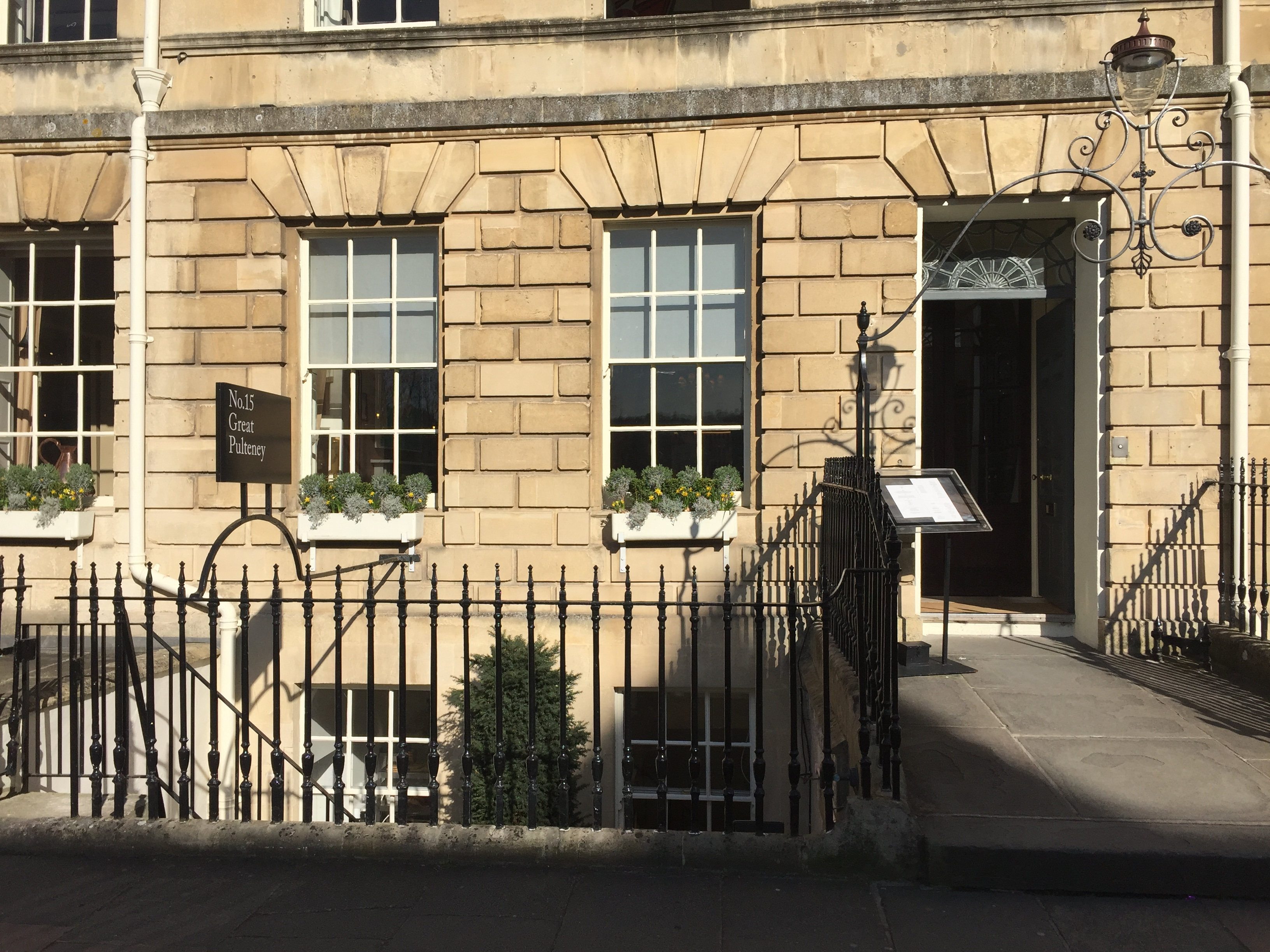 No 15 Great Pulteney Hotel in Bath, UK