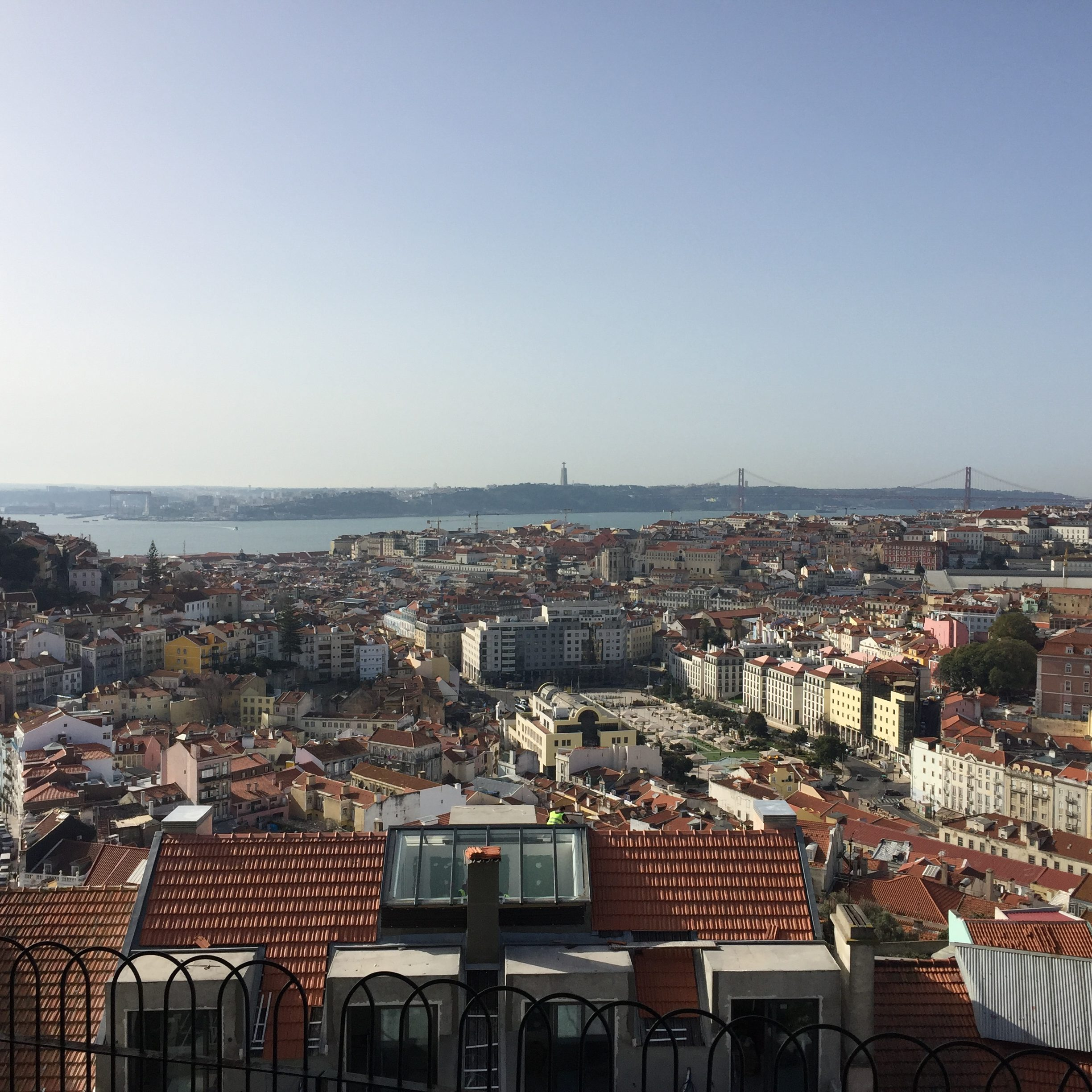 views over lisbon