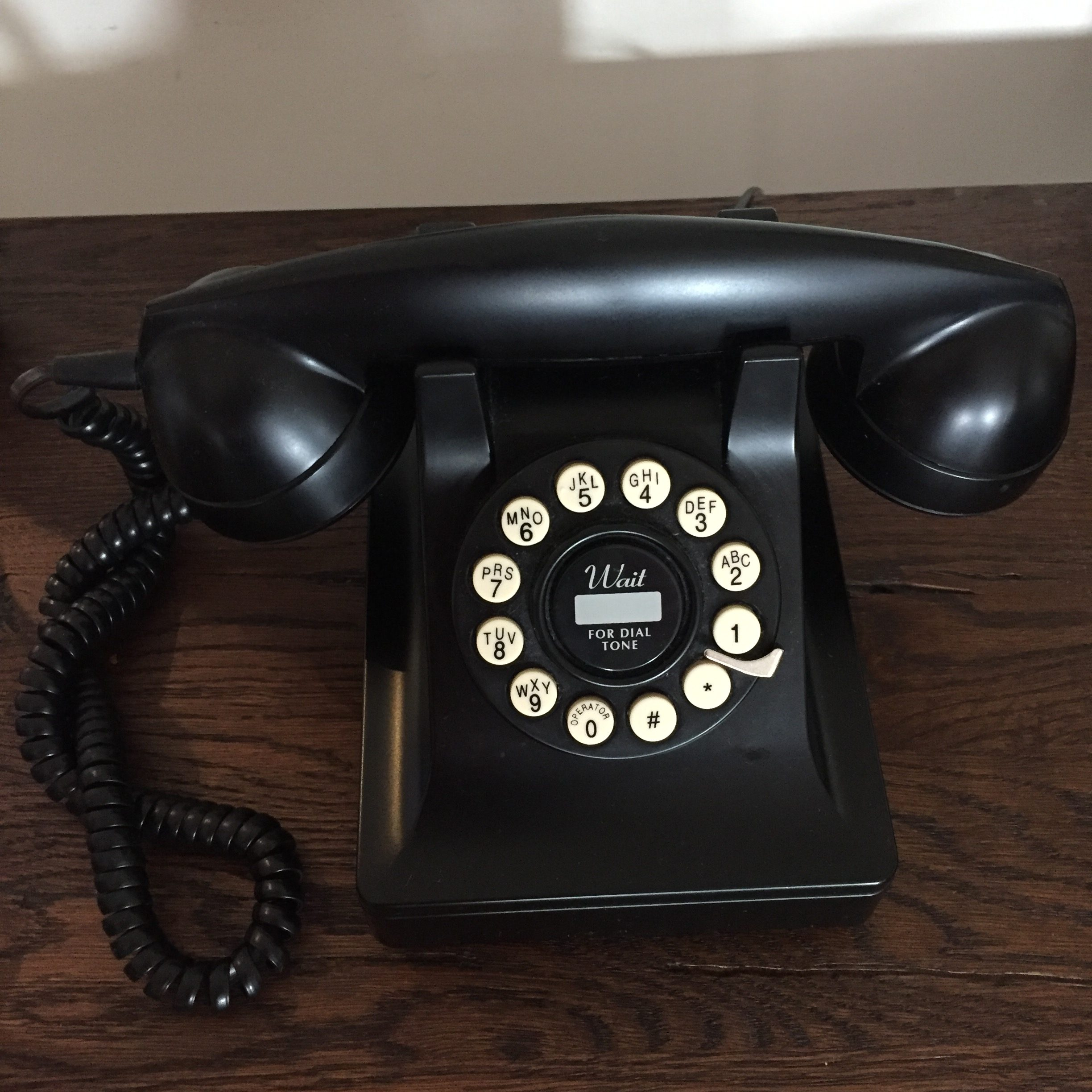 telephone in superior room at alexander pope hotel