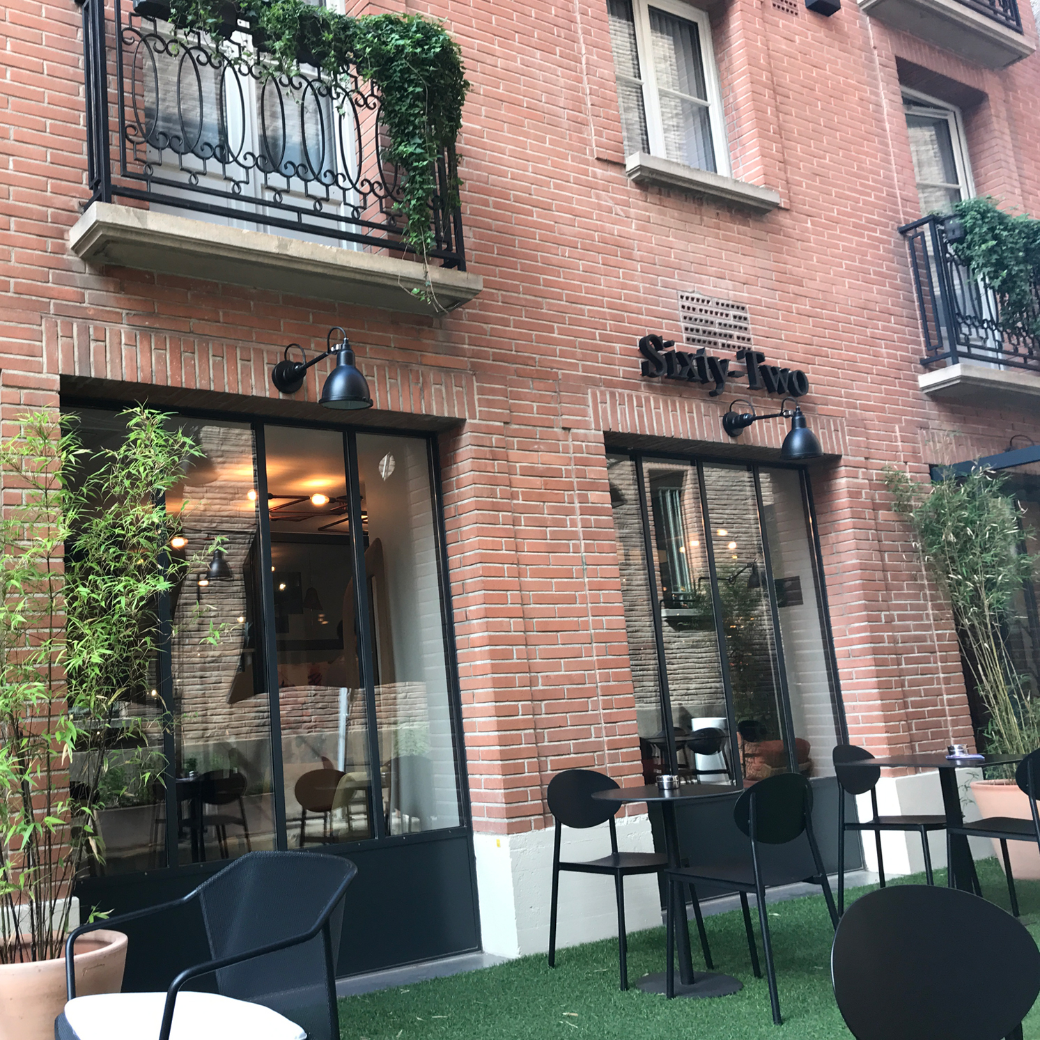 restaurant sixty two in toulouse