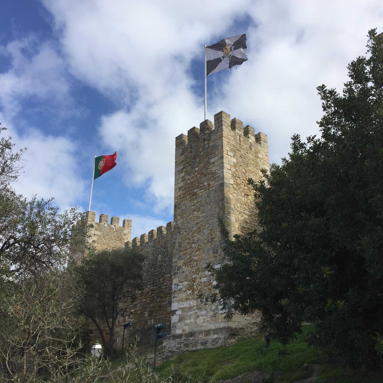 São Jorge Castle in Lisbon, Portugal